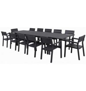Matzo 13 PIECE EXTENSION TABLE SETTING