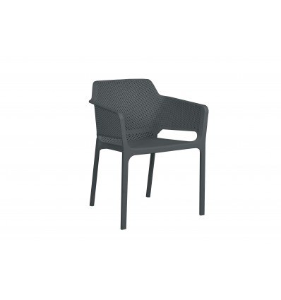 BAILEY RESIN TUB CHAIR CHARCOAL