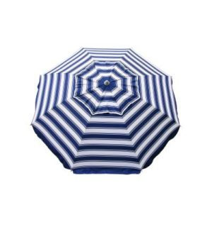 Beach Umbrella Daytripper Navy/White