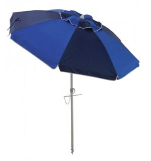 Beach Umbrella fiesta navy/royal