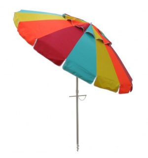 Beach Umbrella masquerade / citrus