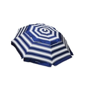 Beach Umbrella Portabrella Navy/White