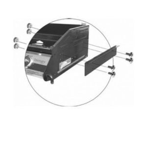 BRACKET TO SUIT 1100S BUILT-IN BBQS BD16350