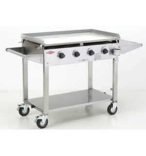 Clubman Stainless Steel 4 Burner BBQ BD16440