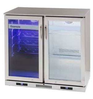 DUAL ZONE PREMIUM BAR FRIDGE - 200L