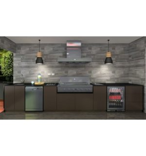 Euro Outdoor Kitchen - SERATA 4.79 metres