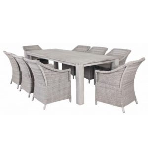 Fineline 9pce Dining Setting