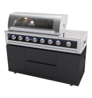 GALAXY BLACK 6 BURNER BBQ