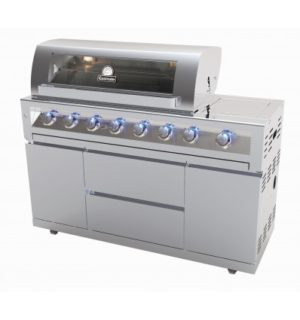 GASMATE 6 BURNER BBQ UNIT