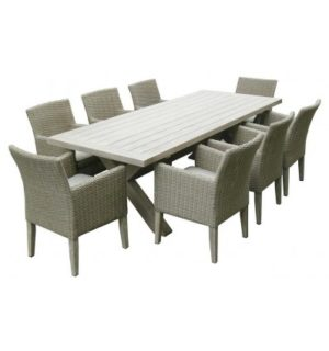 GRANDE 9PCE DINING SETTING