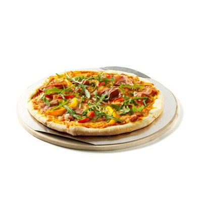 Large Q Pizza Stone and Tray 36.5CM