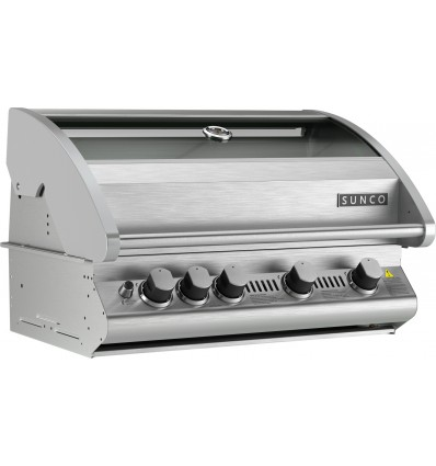 Sunco SC60P 4 Burner Stainless Steel Built In BBQ
