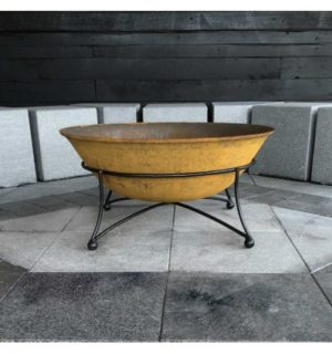 THE ART DECO FIREPIT 750MM