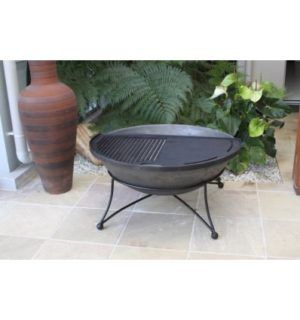 THE ART DECO FIREPIT 900MM