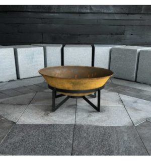 THE CUBIST FIREPIT 900MM