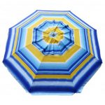 UMBRELLA DAYTRIPPER 205CM SUNBURST STRIPE