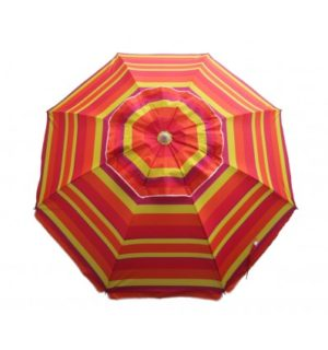 UMBRELLA DAYTRIPPER 205CM SUNSET STRIPE